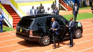 The Departure & Arrival of President Kagame to the consecration of His Grace Antoine Kambanda