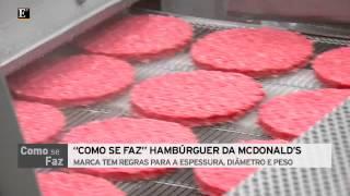 Como Se Faz - Hamburger da McDonalds