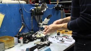 Ремонт форсунок Бош.  Восстановление отверстия под клапан в насос-форсунке Bosch