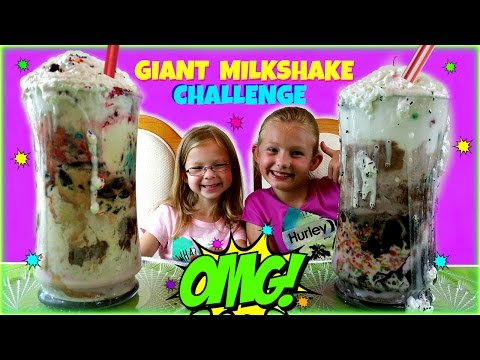 WORLD'S LARGEST MILKSHAKE CHALLENGE - Magic Box Toys Collector