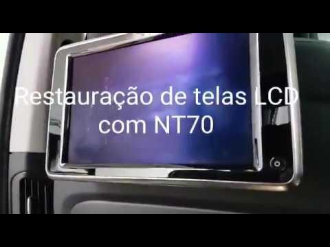 NT70 Aerossol - Restauração do LCD