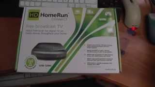 New HDHomerun DVB-T/T2 UK/Aus - Unboxing, install, etc