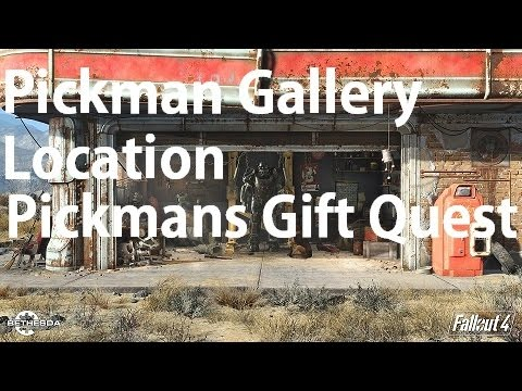 Fallout 4 Pickman's Blade Location Pickman's Gift Quest Pickman ...