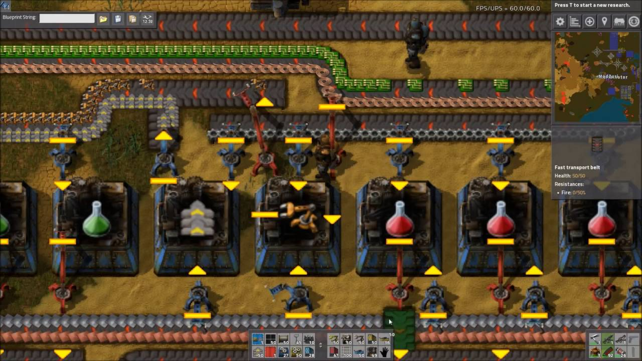 Factorio Workshop - Building A Better Factory :: Science Build Submitted By  Xperiment69