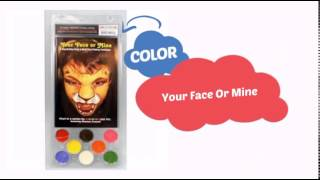 Snazaroo Your Face or Mine Paint Set (8 Colors) - ClownAntics.com