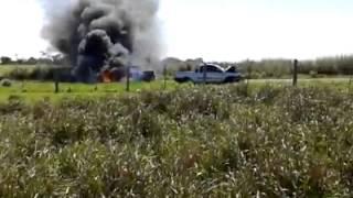 Acidente entre Guaraci e Centenário do Sul - 21/10/2014