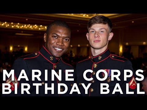 """Celebrating the 242nd Marine Corps Birthday"" | Vlog"