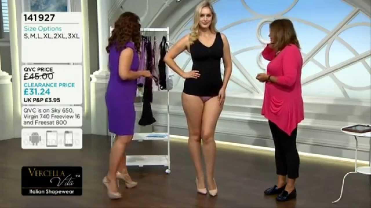 4bec63f38a Jess modelling shapewear. QVC model 16June2015 - YouTube