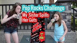 Pop Rocks & Soda Pop Challenge - Bethany G