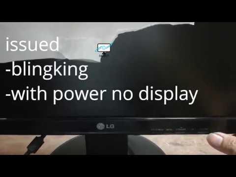 How To Repair LED Monitor   No Display