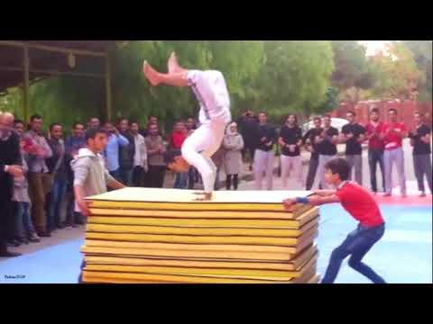 العرض الأقوى - عرض كلية العلوم - جامعة دمشق  // Parkour Syria - Damascus University