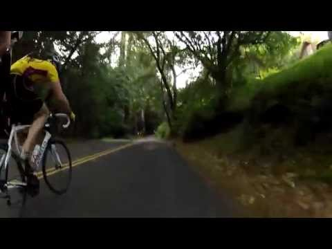 """Grizzly Peak Cyclists Tuesday evening Redwood Pinehurst loop """"B"""" Group"""