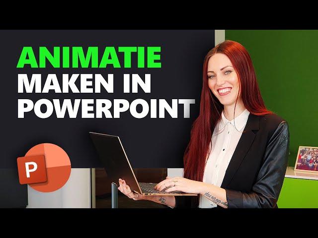 Hoe maak je een animatie in PowerPoint? | PowerPoint Basics | PPT Solutions