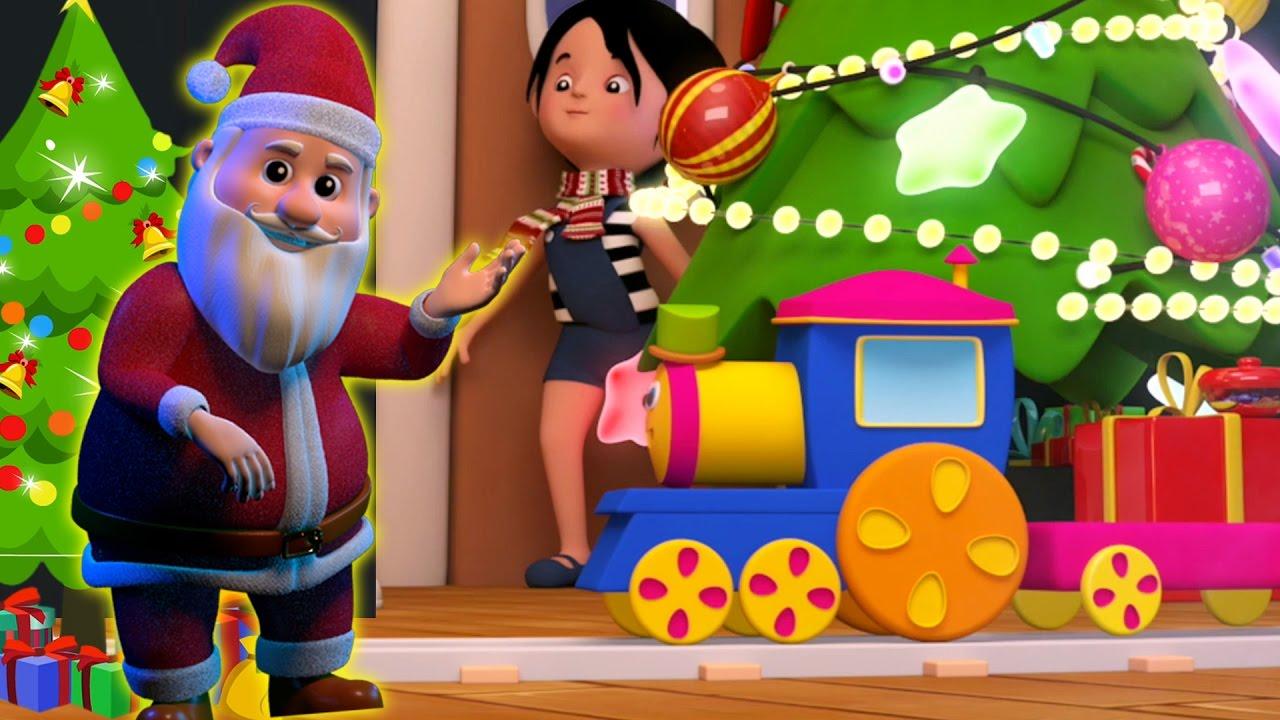 Bob Kereta Jingle Bells Santa Claus Lagu Xmas Jingles Christmas Music