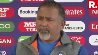 Team India Addresses Media Ahead Of India-West Indies Cricket Match