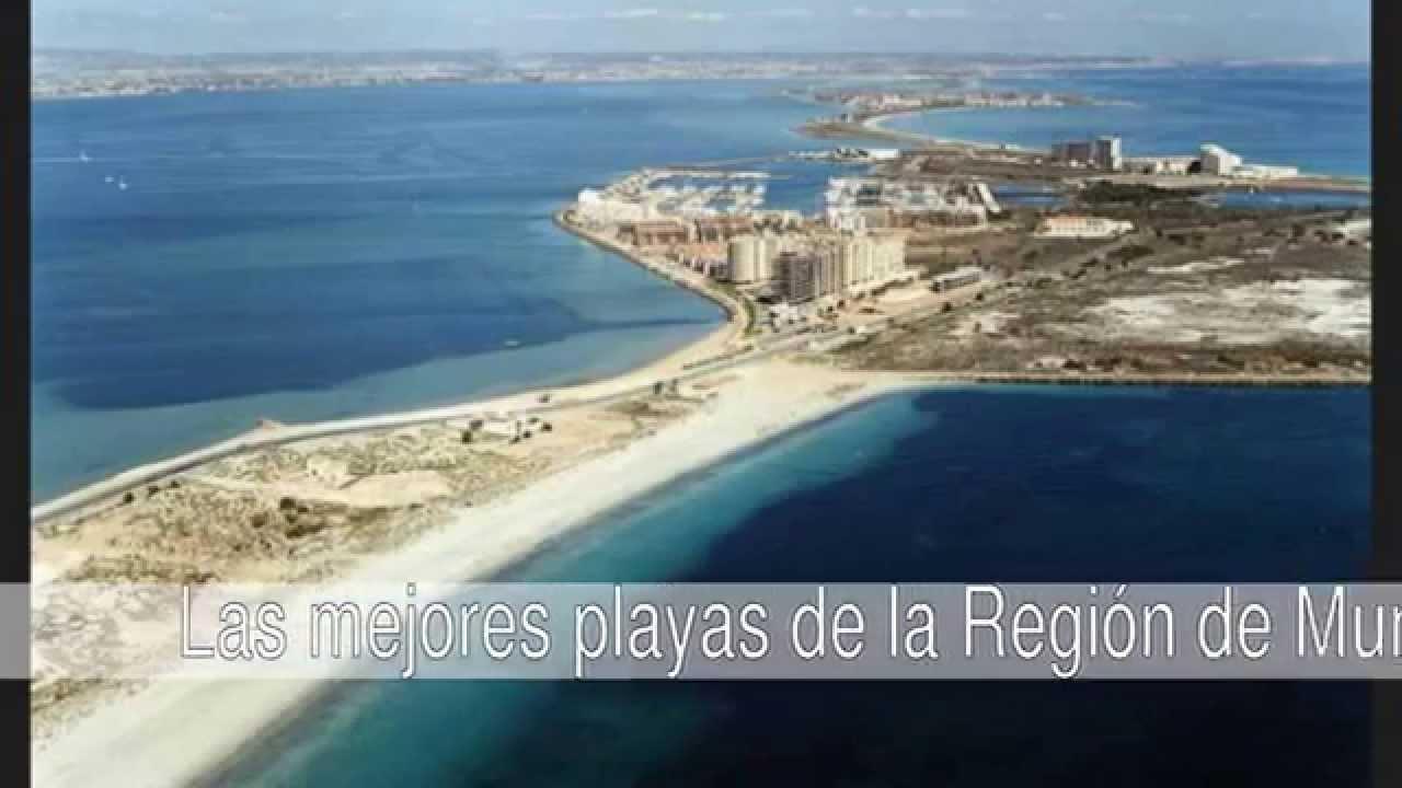 Las mejores playas de la Región de Murcia - YouTube