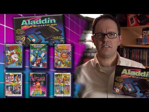 Aladdin Deck Enhancer (NES) - Angry Video Game Nerd (AVGN)