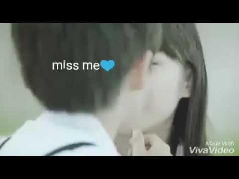 WhatsApp status cute(Kiss me close your eyes)