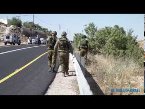IDF Responds to drive by killing
