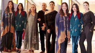 Alia Bhatt Along With Family @ Shaheen Bhatt Book Launch | Uncut Video