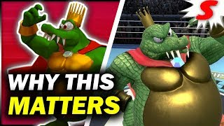 The REAL Significance of King K Rool's Inclusion - Super Smash Bros Ultimate