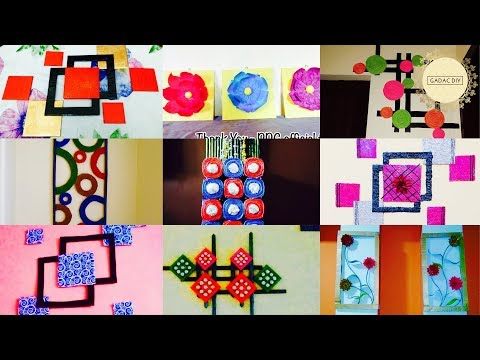 GADAC DIY |  Viewers & Subscribers Creations | Special Dedication | Wall Hanging Ideas | Craft Ideas