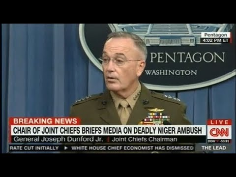 Niger ambush Joint Chiefs of Staff chairman addresses attack  FULL interview