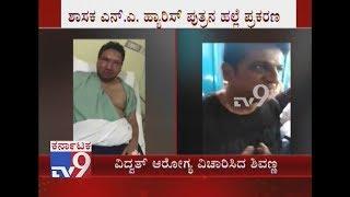 Dr Shivarajkumar Visits Mallya Hospital & Enquires Health Condition of Vidvat