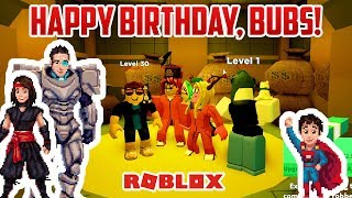Bubs Wants JAILBREAK On His 5th Birthday! HAPPY BIRTHDAY BUBS! Roblox Jailbreak