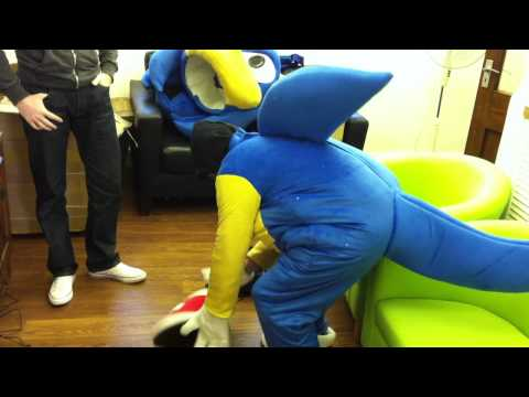 Sonic The Hedgehog Costume | uncut