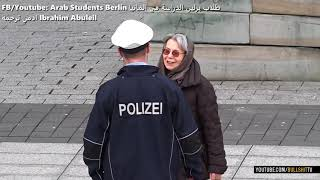 اهضم بوليس بالعالم كل شخص يتمنا ببلدو 😭  مقطع الماني مترجم للعربي للتدريب على السماعي