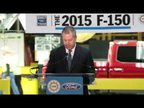 2015 Ford F-150 starts production at Kansas City Assembly   AutoMotoTV