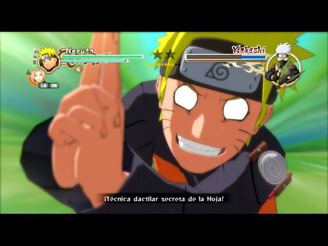 Naruto Shippuden Ultimate Ninja Storm 2 / El ejercicio de