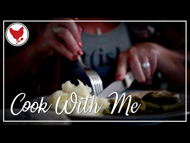 EASY MUSTARD PORK CHOPS   Cook With Me