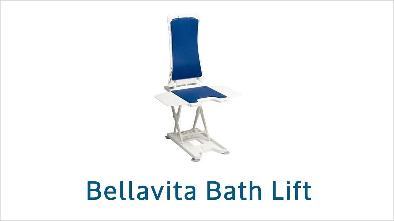 Bellavita bath lift - YouTube
