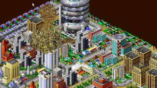 Sim City 2000 disasters GAMEPLAY