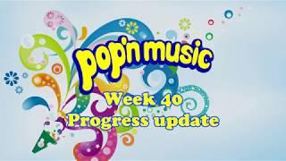 Progress Report: Week 40 Pop