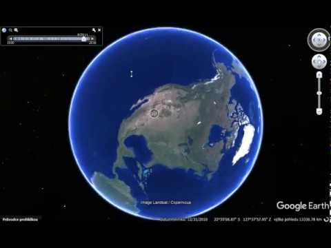 Video EARTH - Google Earth - Interesting places - TOP 5 - Zajímavá místa v Google Earth