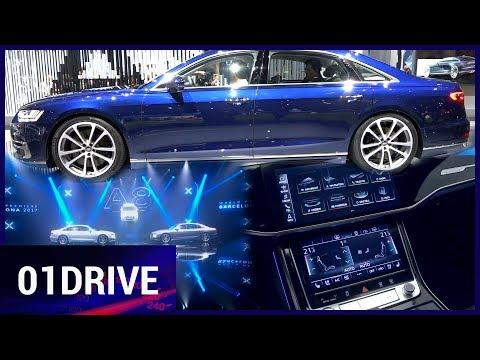 Nouvelle Audi A8 : son intérieur de luxe nous en met plein les yeux sur la high-tech