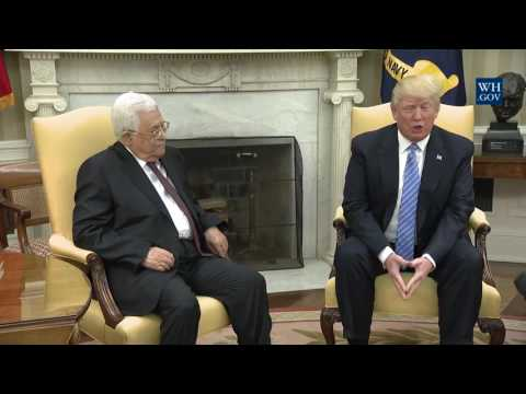President Trump Meets with President Abbas