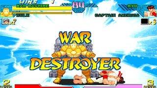 Marvel vs Capcom Clash of Super Heroes - All Hyper Combos