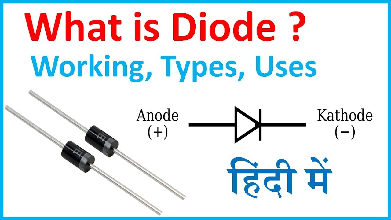 DIODE TYPES AND APPLICATIONS PDF
