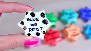 CLAY CRACKING ASMR - Guess The Color Inside! Clay popping