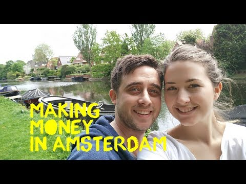 Digital Nomad Update - Making a Profit & Exploring Amsterdam by Bike  | Digital Nomad Series #10