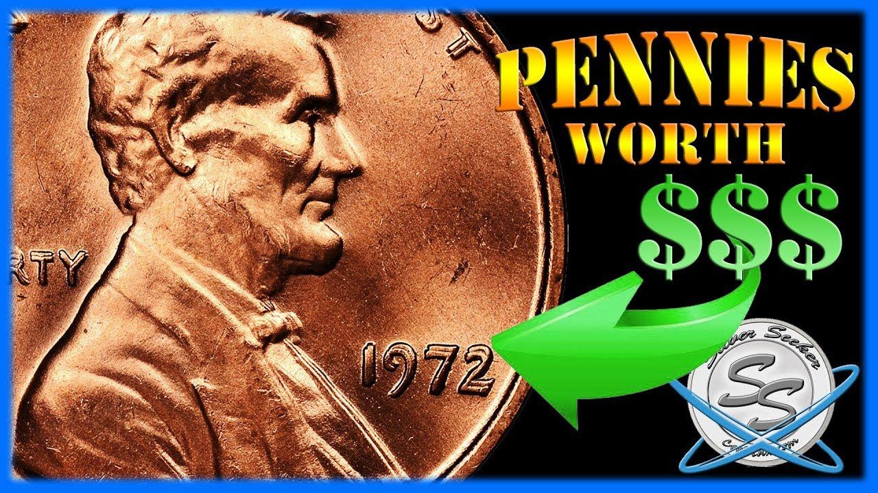 Pennies worth real $$$ - 1972 Double Die Recap!