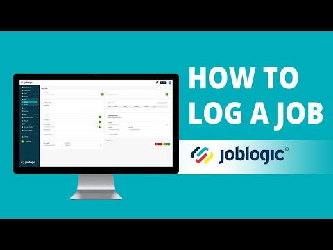 Log a Job | Job Management Software | 1/21