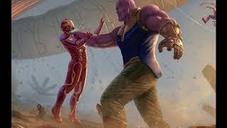 Avengers: Infinity War - Thanos Defeating Iron Man ( Theme Song )