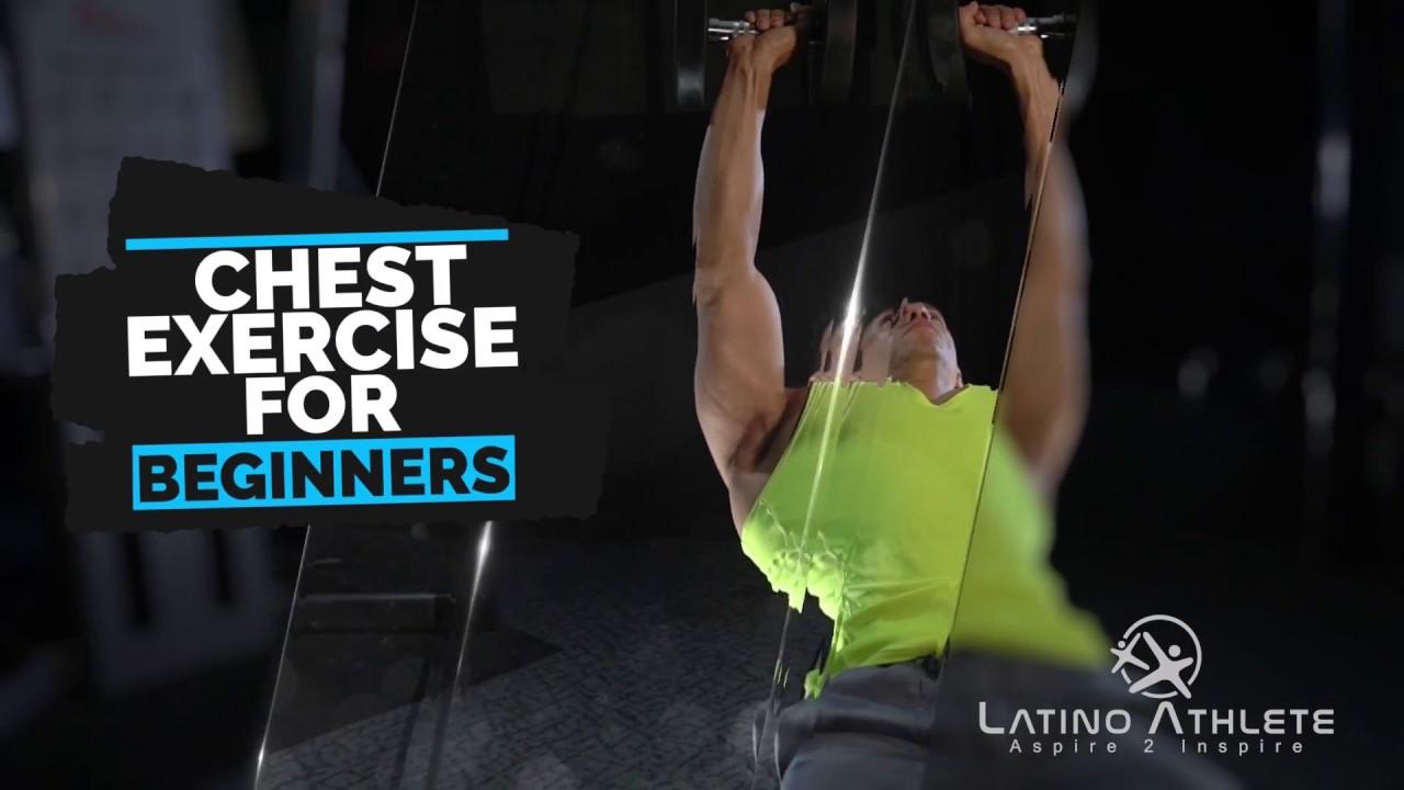 LatinoAthlete Chest Exercise For Beginners