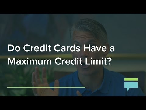 Do Credit Cards And Charge Cards Have Maximum Credit Limit Credit Card Insider