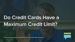 Do Credit Cards and Charge Cards Have A Maximum Credit Limit? - Credit Card Insider